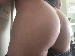 I love when my husband is horny and playing with his bi side. I just love his ass!  I can\'t wait to take his ass with one of my toys!