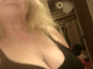 Thought would take pic of my black bra