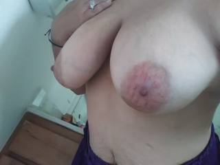 Does anyone want to suck on my nipples