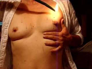 mmmmmm i do love the hot wax.  wanna drip the wax for me and make me purr?