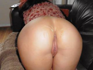 My cum soaked ass. & pussy.....