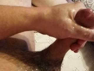 Alot of Cum after a Great Orgasm!!