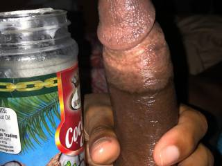 Coconut oil, good for the skin and great for anal