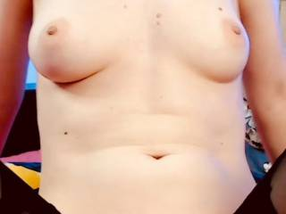 My  little boobs and body.What do u think? Hot or not?