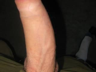 My uncut flaccid cock