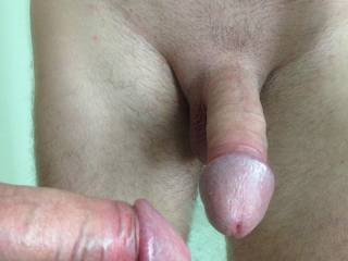 Nice cock would suck you off (hubby)