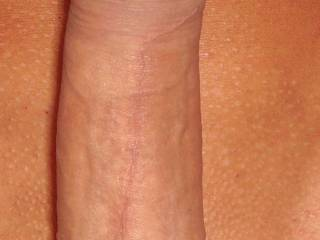Big, hard and shaved... The perfect dick for my mouth and pussy!!!