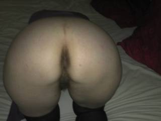 My little whore's ass and pussy.