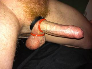 Having fun with my cockrings