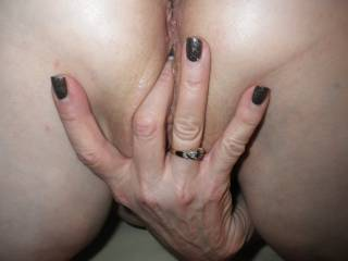 I'll say, wow love the way she plays with her glorious juicy pussy so very erotically, has my tongue in a frenzy wanting to play along with her wet fingers bringing her to a magnificent crescendo and eating her delicious pussy to multiple gushing orgasms!