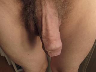 big cock uncut hanging