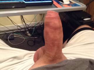 Would you like me to get on your lap and slide my pussy down over your cock?  :) Pleasure