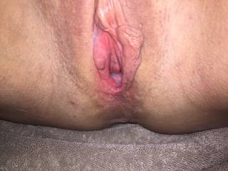 Want to add your cum to my cum filled pussy?