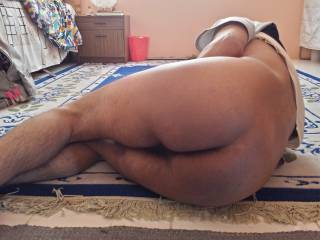 My ass while I am lying Down - 7