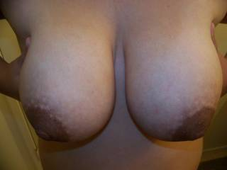 my wifes big brown tits part 2