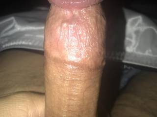 About to stroke my dick and cum all over