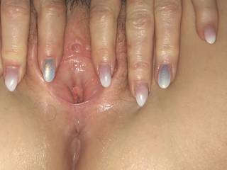 Tight hole for 45 year old pussy