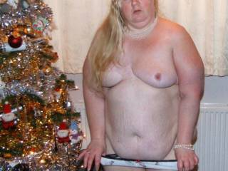 Unwrapping under the tree BBW style...pm me to see more xx