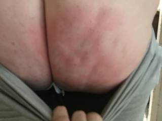 Busty was not a dirty girl as instructed so she was spanked. What do you think? Think she needs more?
