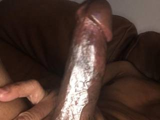 Big black dick hard as hell