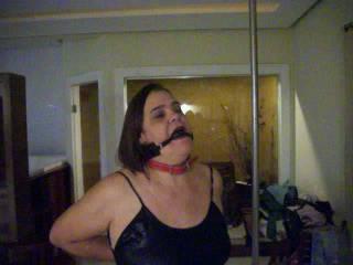 taste milf bondage slave taken to Dubai Dungeon
