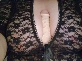 Would you like to put your hard cock between my big tits?