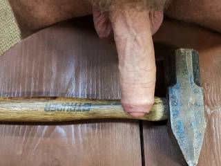 I need to hammer something, smooth n wet would be nice