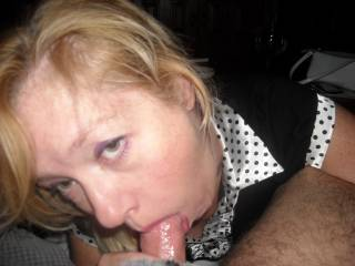 JUST SUCKIN MY COCKHEAD AS SHE TWIRLS HER TONGUE
