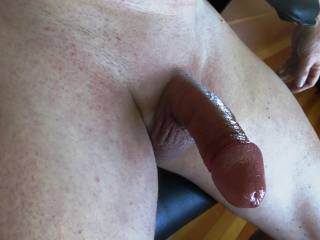 getting a little bit wet while masturbating