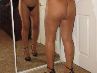 Sexy big booty.  Mrs Caucasiancpl