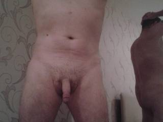 Showing off my little dick