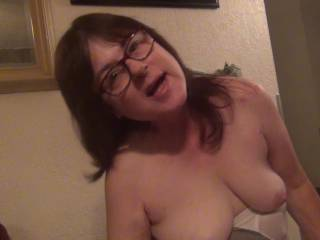 got my big tits and a open mouth,please fill it up?