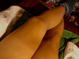 Legs and pussy
