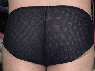Sexy black panties today