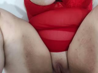 Big tits and juicy wet pussy - I must be in heaven!