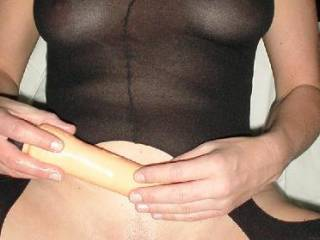 use my fat cock deep into u hun.. it's a better play i think....