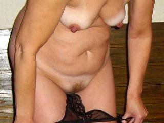 wow you are a very lucky man to have this gorgeous and hot lady as your wife she is hot. mmm