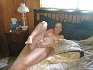 Such a Hot Photo of a Sexy Lady laying there  mmm So Nice