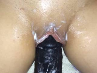 Really like my new toy, all my cream on it might of showed that. Could you make my pussy cream and squirt??