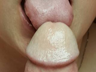 I love licking the precum from a dick.  Are there any heavy drippers that would like to try my mouth out for size?
