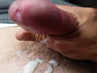 Was horny at work and went for a little drive to blow my big load
