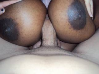 I wish that was my cock between those beauties...