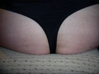 Butt miss - you have knickers on