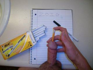 back to school with a insertion twist, need a pencil.
