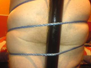 wife tied me to the pole