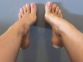 what would u like me to do with my feet?