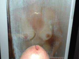 Wouldn\'t I be lucky to catch ggpror in the shower? I just love hot, wet, soapy boobs