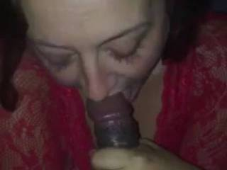 Receiving some good cocksucking from a real blowjobqueen who worships the BBC....