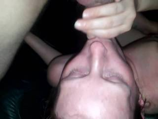 Shes Enjoying Having A Random Guy First Facefuck And Cum In Her Mouth Then Toses Her Around To Pound Her Pussy Hard And Throbs A Load Into Her Tight Pussy