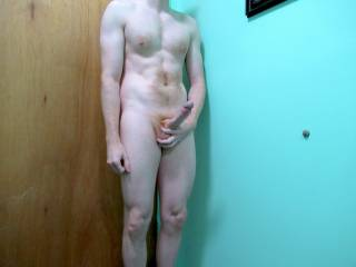 I got horny before I took my shower. Anybody want to get naked with me?